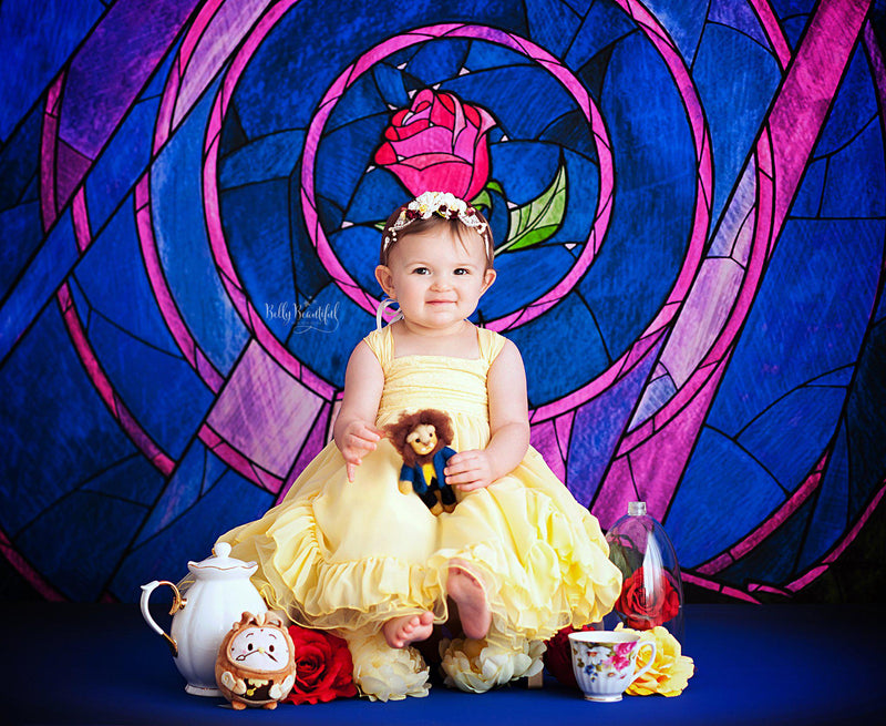 Bae Princess Dress • Beauty and the Beast Inspired-newborn dress-Sew Trendy Accessories