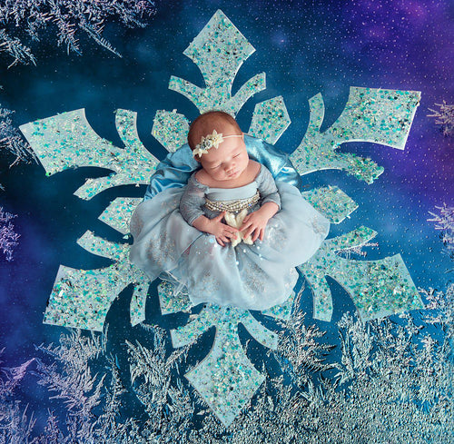 Ilma Princess Dress • Elsa Frozen Inspired