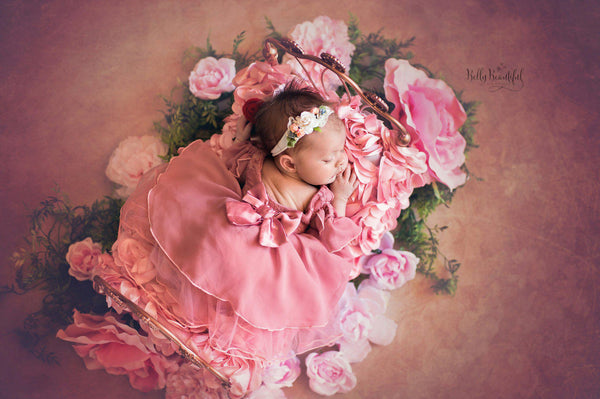 Aurelia Princess Dress • Sleeping Beauty Inspired-newborn dress-Sew Trendy Accessories