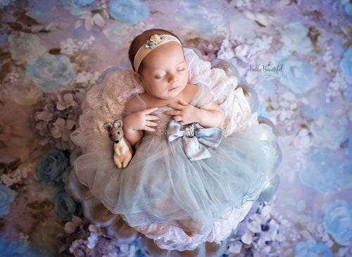 Ella Princess Dress • Cinderella Inspired-newborn dress-Sew Trendy Accessories