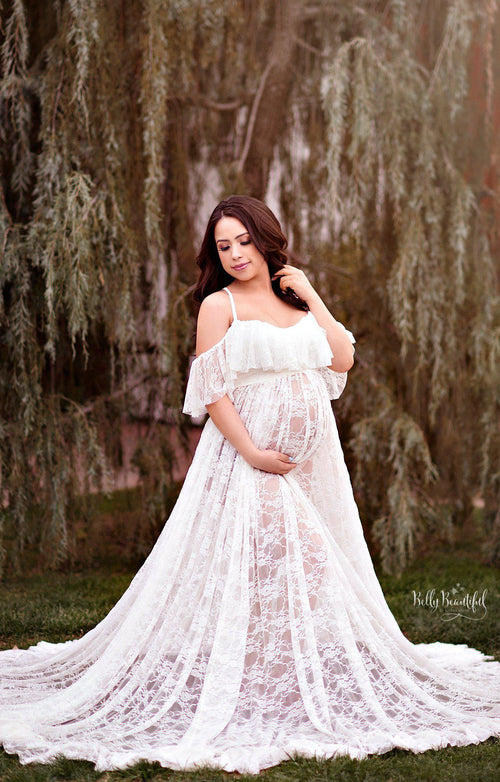 Shannon Gown-Maternity Gown-Sew Trendy Accessories