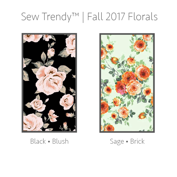 Floral Kaelynn Gown  ***PRE-ORDER***  FALL 2017 FLORALS •  by Sew Trendy