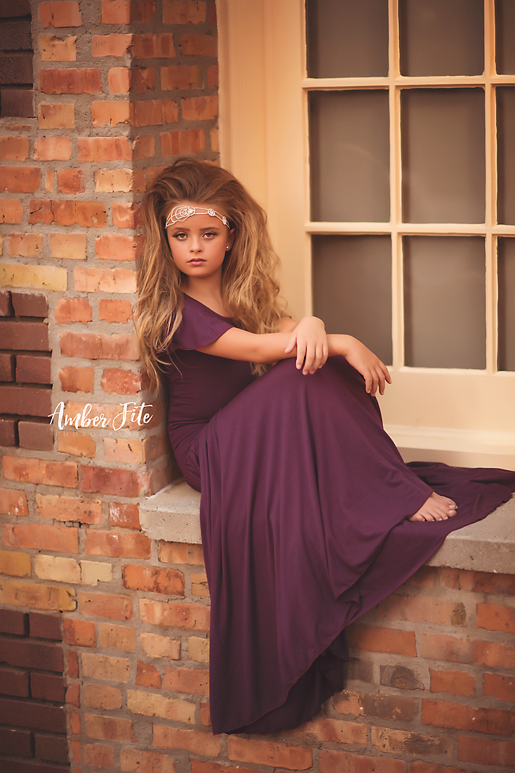 Billie Gown-girls dresses-Sew Trendy Accessories