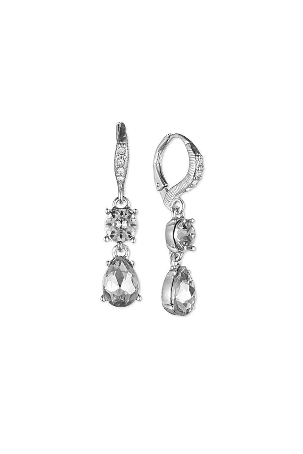 Givenchy Silver Drop Earrings