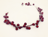 Holly Crown • Holiday Crown • Berry Crown • Red Berries Grapevine Crown • Christmas Crown | READY TO SHIP