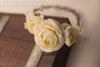 Evelyn Flower Crown {IVORY}
