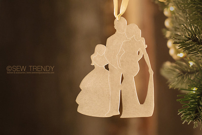 Maternity Christmas Ornament • Our Growing Family