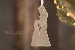 Maternity Christmas Ornament • Just Us Girls