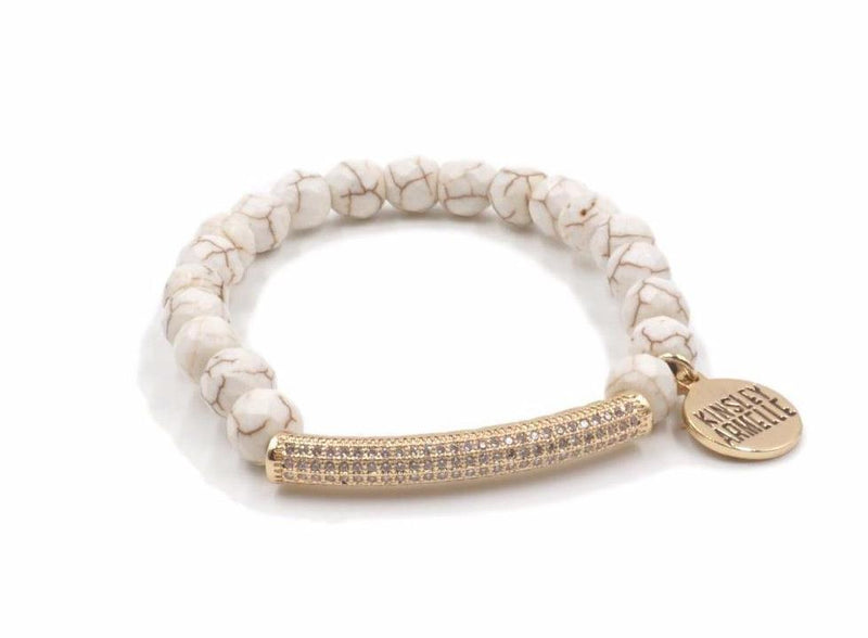 Glitz Collection Khaki Bracelet