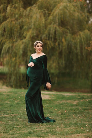 Elda Gown in Velvet