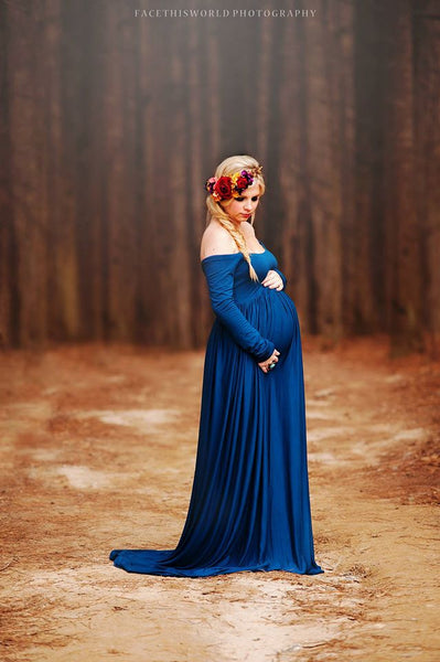 Miriam Gown Sew Trendy Maternity Gown Shop In Riverton