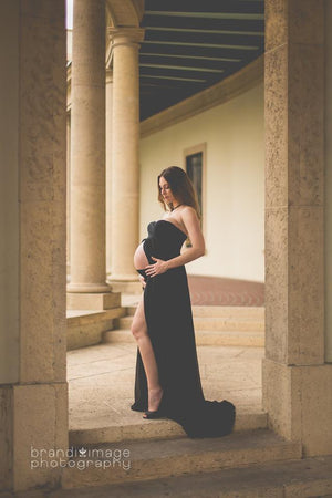 Tracie Gown-Maternity Gown-Sew Trendy Accessories
