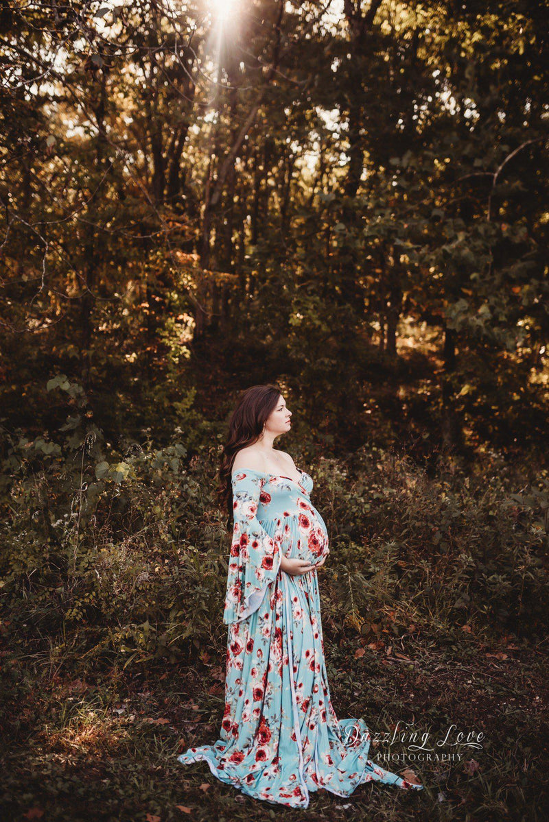 Wren Gown in Floral Print