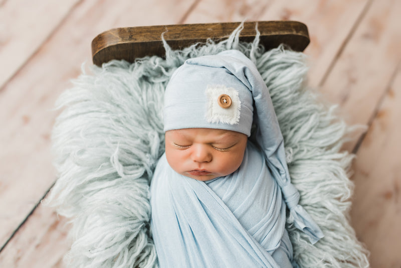 Newborn Long Sleeper Cap
