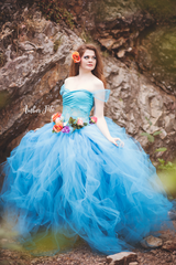 Regina Couture Tutu • Maternity Tutu • Photo Shoot Tutu • Pregnancy Tutu • by Sew Trendy