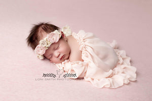 Lilly Gown-newborn dress-Sew Trendy Accessories