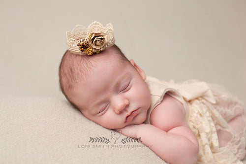 Aspen Crown • Newborn Crown • Photo Prop | Ready to Ship