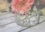 Cinderella Crown • Princess Rhinestone Crown • Photo Prop | Ready To Ship