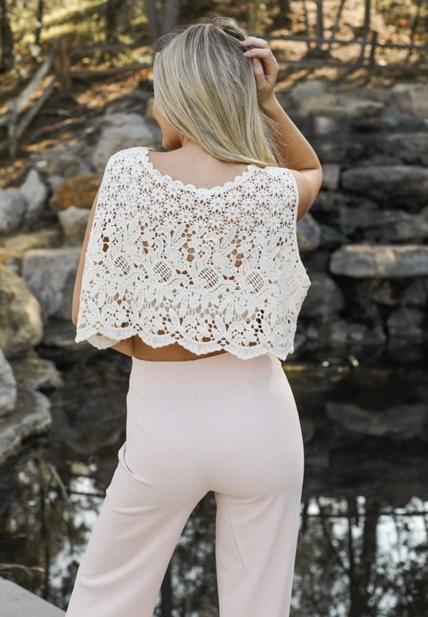 Crochet Lace Crop