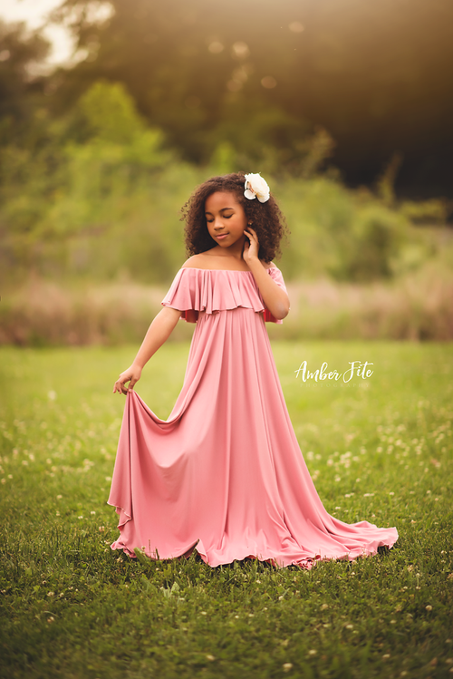 Carly Gown-girls dresses-Sew Trendy Accessories