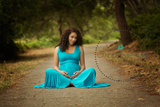 Leyah Gown • Infinity Gown • Maternity Dress • Pregnancy Gown • Bridesmaid Dress • Senior Photos • Photo Shoot • Boho Dress • by Sew Trendy