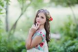 Adley Floral Crown •  Fall 2017 Florals • Sage Brick Floral Crown • Boho Flower Crown • Floral Crown | Ready To Ship • by Sew Trendy