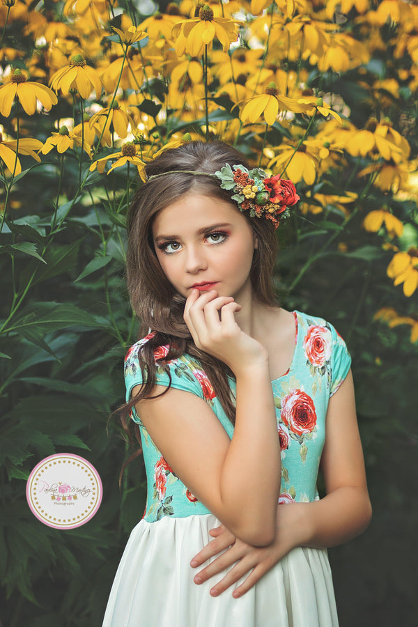 Ainsley Gown-girls dresses-Sew Trendy Accessories