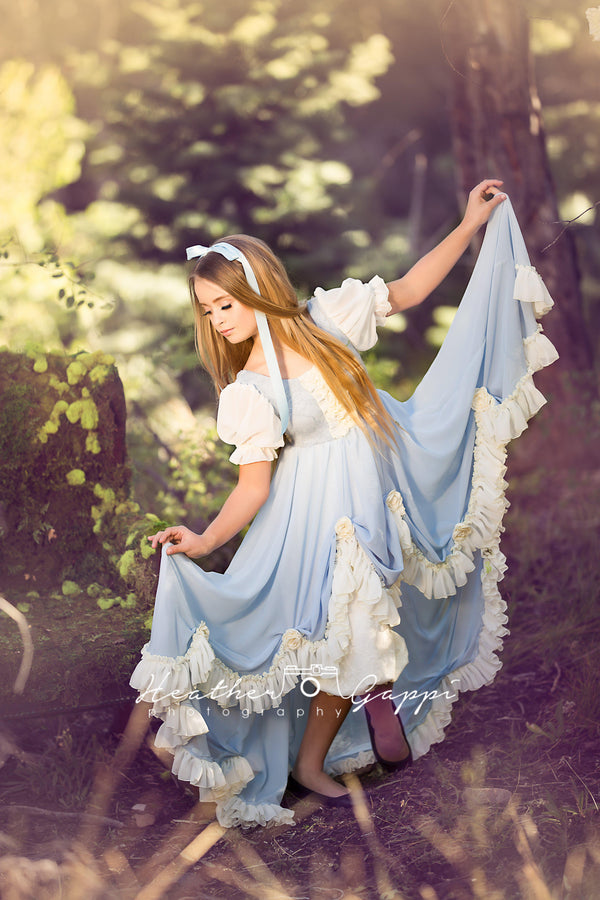 Alice Gown-girls dresses-Sew Trendy Accessories