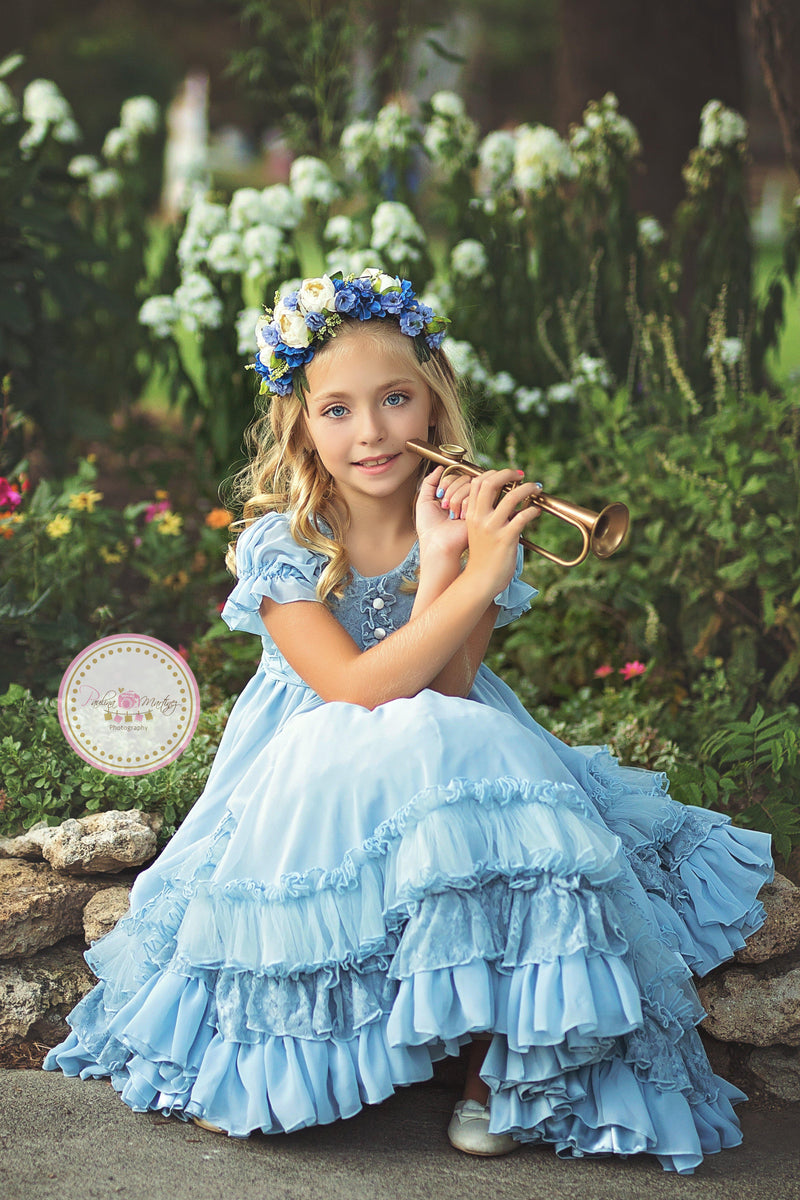 Nelle Gown-girls dresses-Sew Trendy Accessories