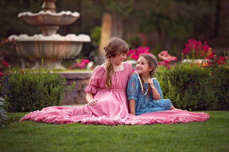 Paulie Gown-girls dresses-Sew Trendy Accessories