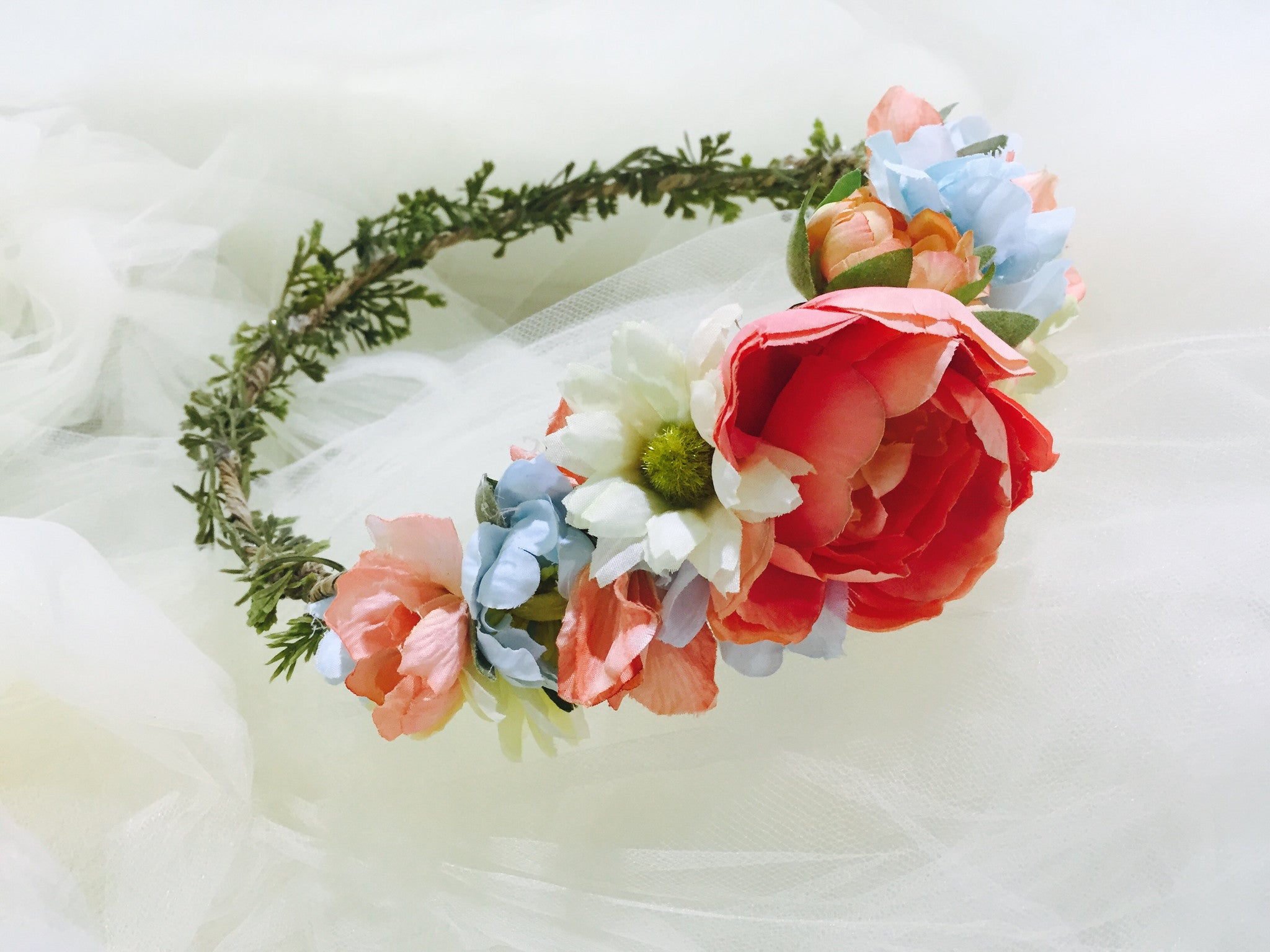 Gladys Flower Crown Sale Discontinued