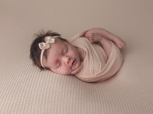 Newborn Waffle Knit Drop & Wrap Set {More Colors Available}