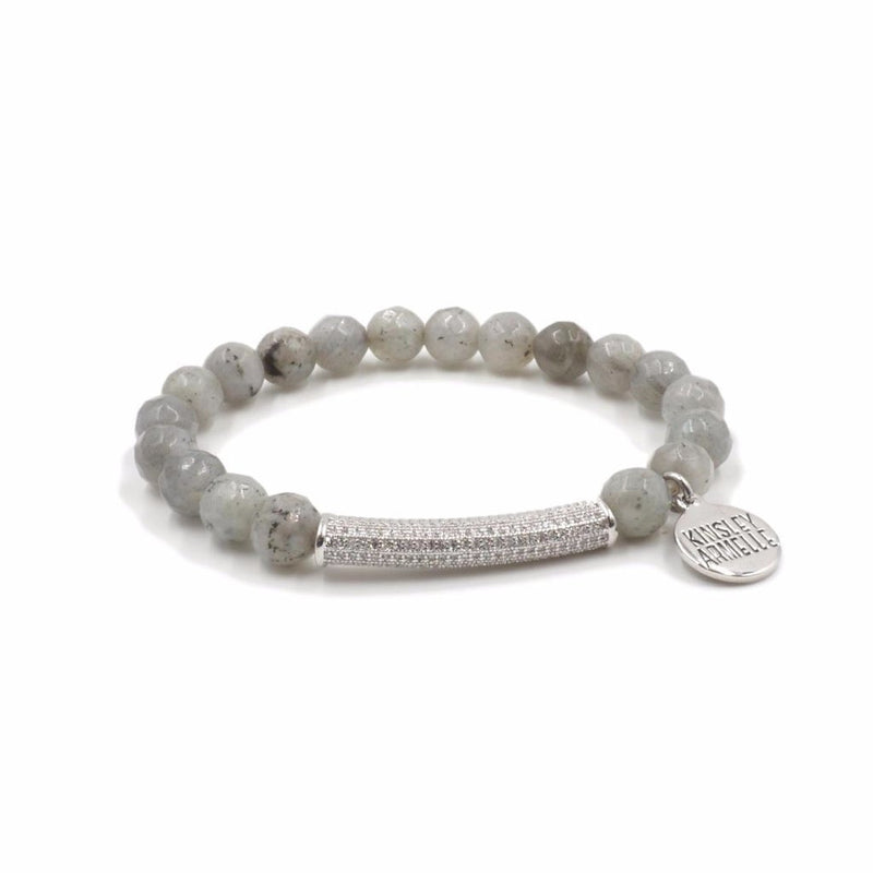 Glitz Collection Haze Bracelet in Silver
