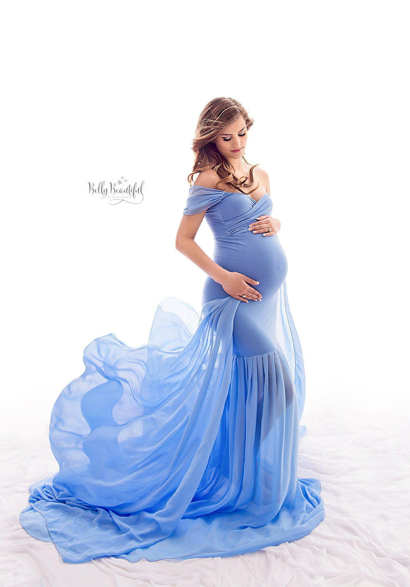 Angela Gown | Sew Trendy | Maternity Gown Shop in Riverton, Utah