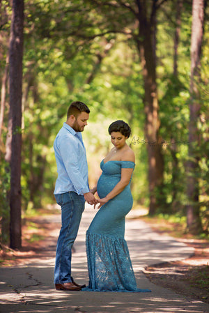 Bella Gown-Maternity Gown-Sew Trendy Accessories