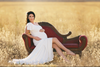 Bonnie Gown-Maternity Gown-Sew Trendy Accessories