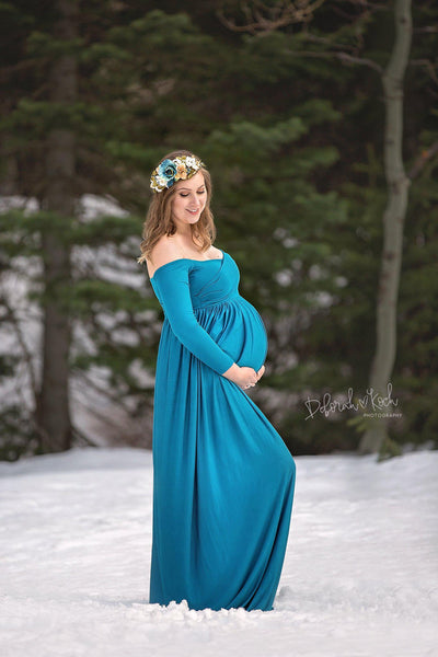 Breanna Gown Sew Trendy Maternity Gown Shop In