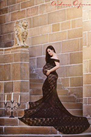 Catherine Gown-Maternity Gown-Sew Trendy Accessories