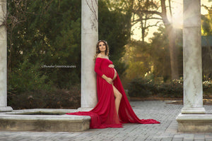 Erin Gown-Maternity Gown-Sew Trendy Accessories