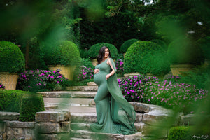 Hera Gown-Maternity Gown-Sew Trendy Accessories