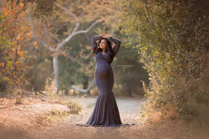 Francis Gown-Maternity Gown-Sew Trendy Accessories