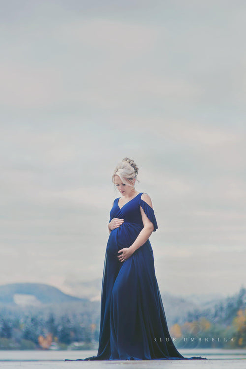 Kalessa Gown-Maternity Gown-Sew Trendy Accessories