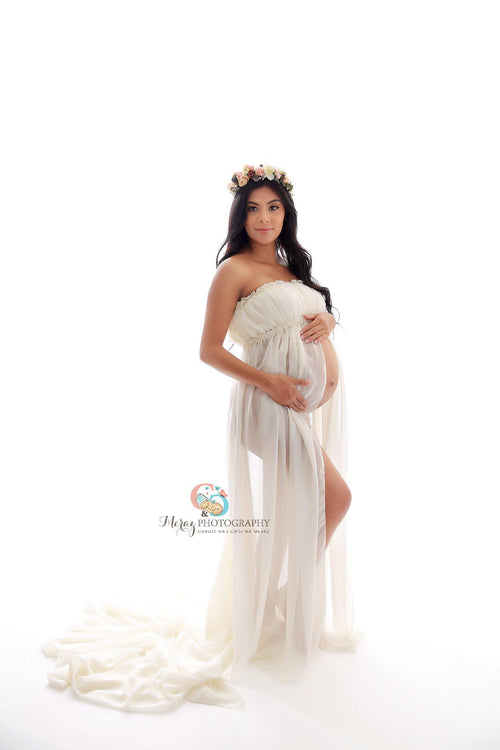 Lillian Gown-Maternity Gown-Sew Trendy Accessories