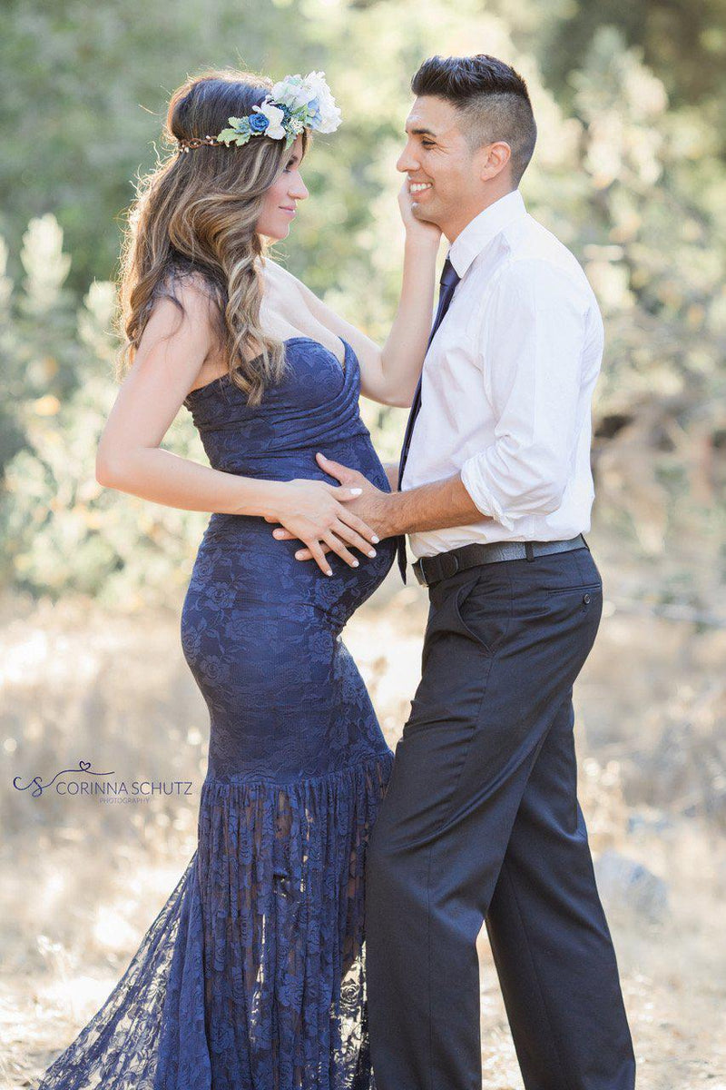 Marilyn Gown-Maternity Gown-Sew Trendy Accessories