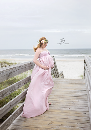 Rebecca Gown-Maternity Gown-Sew Trendy Accessories