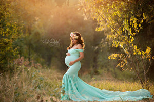 Samantha Gown-Maternity Gown-Sew Trendy Accessories