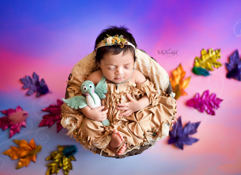 Aiyana Princess Dress • Pocahontas Inspired-newborn dress-Sew Trendy Accessories