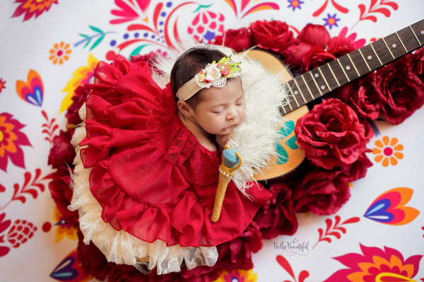 Alanna Princess Dress • Elena of Avalor Inspired-newborn dress-Sew Trendy Accessories