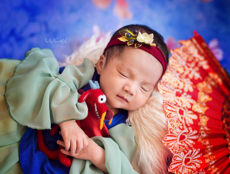 Lien Princess Dress • Mulan Inspired-newborn dress-Sew Trendy Accessories