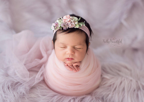 Newborn Mesh Wrap | Ready To Ship | FREE SHIPPING